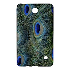 Peacock Feathers Blue Bird Nature Samsung Galaxy Tab 4 (8 ) Hardshell Case