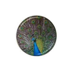 Peacock Feather Beat Rad Blue Hat Clip Ball Marker