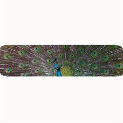 Peacock Feather Beat Rad Blue Large Bar Mats