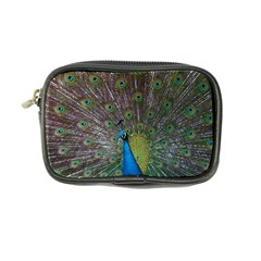Peacock Feather Beat Rad Blue Coin Purse