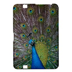 Peacock Feather Beat Rad Blue Kindle Fire Hd 8 9