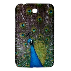Peacock Feather Beat Rad Blue Samsung Galaxy Tab 3 (7 ) P3200 Hardshell Case