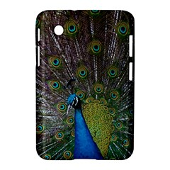 Peacock Feather Beat Rad Blue Samsung Galaxy Tab 2 (7 ) P3100 Hardshell Case