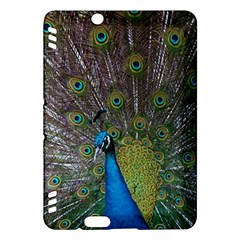 Peacock Feather Beat Rad Blue Kindle Fire Hdx Hardshell Case