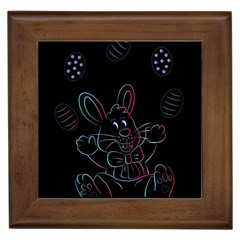 Easter Bunny Hare Rabbit Animal Framed Tiles
