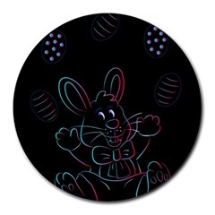 Easter Bunny Hare Rabbit Animal Round Mousepads