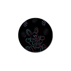 Easter Bunny Hare Rabbit Animal Golf Ball Marker (4 Pack)
