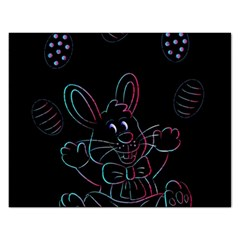 Easter Bunny Hare Rabbit Animal Rectangular Jigsaw Puzzl