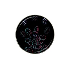 Easter Bunny Hare Rabbit Animal Hat Clip Ball Marker
