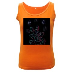 Easter Bunny Hare Rabbit Animal Women s Dark Tank Top