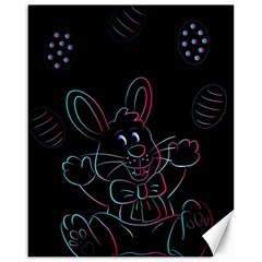 Easter Bunny Hare Rabbit Animal Canvas 16  X 20