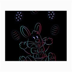 Easter Bunny Hare Rabbit Animal Small Glasses Cloth (2 Side)