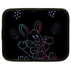 Easter Bunny Hare Rabbit Animal Netbook Case (Large)