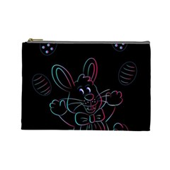 Easter Bunny Hare Rabbit Animal Cosmetic Bag (large)