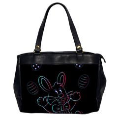 Easter Bunny Hare Rabbit Animal Office Handbags (2 Sides)
