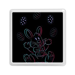 Easter Bunny Hare Rabbit Animal Memory Card Reader (square)