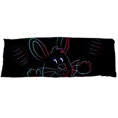 Easter Bunny Hare Rabbit Animal Body Pillow Case Dakimakura (two Sides)