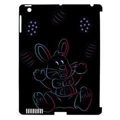 Easter Bunny Hare Rabbit Animal Apple Ipad 3/4 Hardshell Case (compatible With Smart Cover)