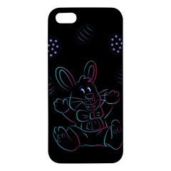 Easter Bunny Hare Rabbit Animal Apple Iphone 5 Premium Hardshell Case