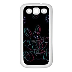 Easter Bunny Hare Rabbit Animal Samsung Galaxy S3 Back Case (white)
