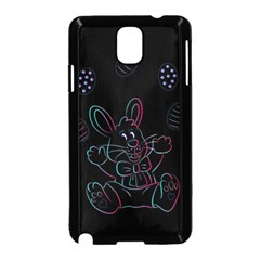 Easter Bunny Hare Rabbit Animal Samsung Galaxy Note 3 Neo Hardshell Case (black)