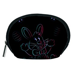 Easter Bunny Hare Rabbit Animal Accessory Pouches (medium)
