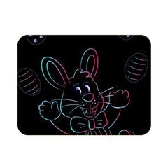Easter Bunny Hare Rabbit Animal Double Sided Flano Blanket (mini)