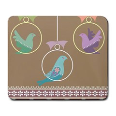 Isolated Wallpaper Bird Sweet Fowl Large Mousepads