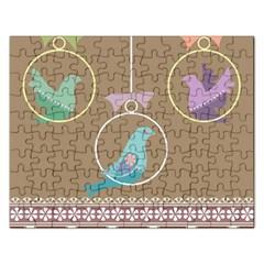 Isolated Wallpaper Bird Sweet Fowl Rectangular Jigsaw Puzzl
