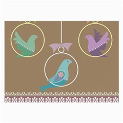 Isolated Wallpaper Bird Sweet Fowl Large Glasses Cloth