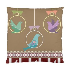 Isolated Wallpaper Bird Sweet Fowl Standard Cushion Case (one Side)