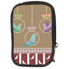 Isolated Wallpaper Bird Sweet Fowl Compact Camera Cases