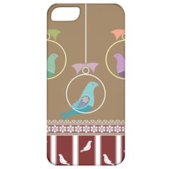 Isolated Wallpaper Bird Sweet Fowl Apple Iphone 5 Classic Hardshell Case
