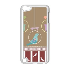 Isolated Wallpaper Bird Sweet Fowl Apple Ipod Touch 5 Case (white)