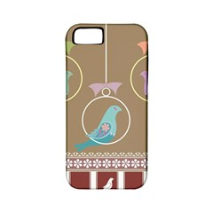 Isolated Wallpaper Bird Sweet Fowl Apple Iphone 5 Classic Hardshell Case (pc+silicone)