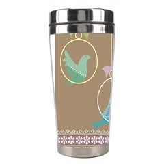 Isolated Wallpaper Bird Sweet Fowl Stainless Steel Travel Tumblers