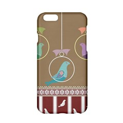 Isolated Wallpaper Bird Sweet Fowl Apple Iphone 6/6s Hardshell Case