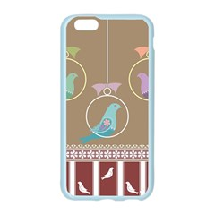 Isolated Wallpaper Bird Sweet Fowl Apple Seamless iPhone 6/6S Case (Color)