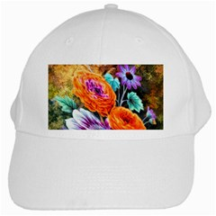 Flowers Artwork Art Digital Art White Cap