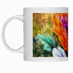 Flowers Artwork Art Digital Art White Mugs