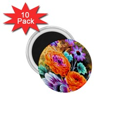 Flowers Artwork Art Digital Art 1.75  Magnets (10 pack)
