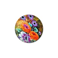 Flowers Artwork Art Digital Art Golf Ball Marker (4 Pack)