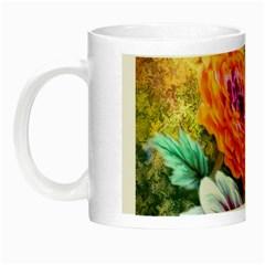 Flowers Artwork Art Digital Art Night Luminous Mugs