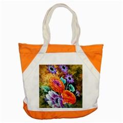 Flowers Artwork Art Digital Art Accent Tote Bag