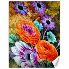 Flowers Artwork Art Digital Art Canvas 12  X 16