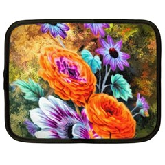 Flowers Artwork Art Digital Art Netbook Case (xl)