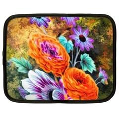 Flowers Artwork Art Digital Art Netbook Case (xxl)