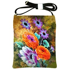 Flowers Artwork Art Digital Art Shoulder Sling Bags