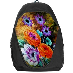 Flowers Artwork Art Digital Art Backpack Bag