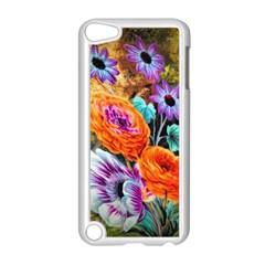 Flowers Artwork Art Digital Art Apple Ipod Touch 5 Case (white)